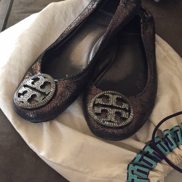 Tory Burch Flats with Bling